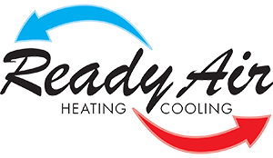 Ready Air Heating and Cooling Logo